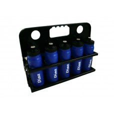Foldable 10 Water Bottle Carrier with Bottles
