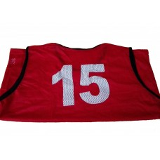 Pro Fine Mesh Bibs with Numbers