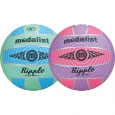 Ripple moulded netball ball size 4,5